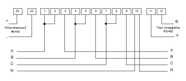 Схема подключения счетчиков электроэнергии евроальфа к аскуэ